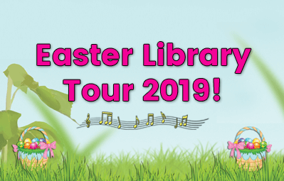 Easter Egg Hunt - Swiss Cottage Library 8th April 2019 - Easter Library Tour!