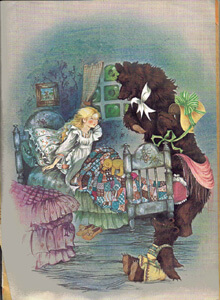 Hamlyn Wonderful Fairy Stories in Colour story page image
