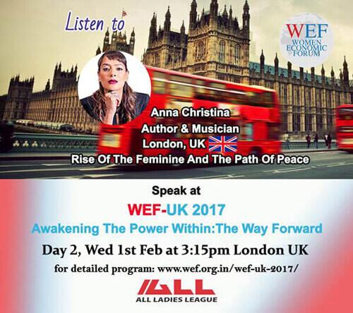 Anna-Christina - Speaker at the Women Economic Forum 2017 image
