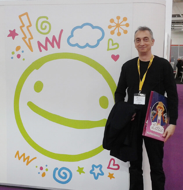 Adie Hardy at The Toy Fair 2016 at Olympia London image