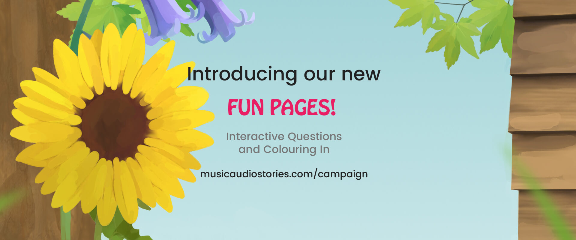 Introducing our Children's Fun Pages image