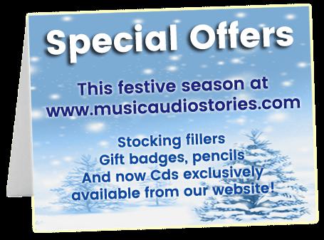 Music Audio Stories Christmas Card image