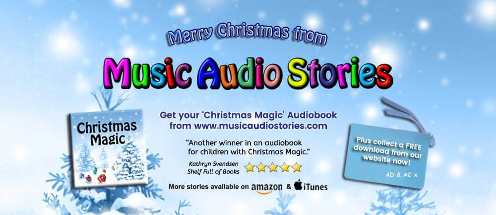 Music Audio Stories Christmas Magic banner image