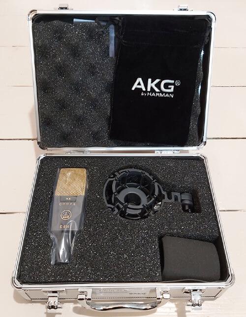Music Audio Stories Studios AKG microphone image