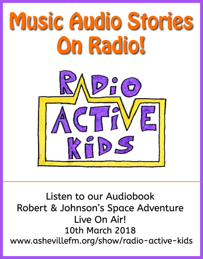 Radio Active Kids flyer image