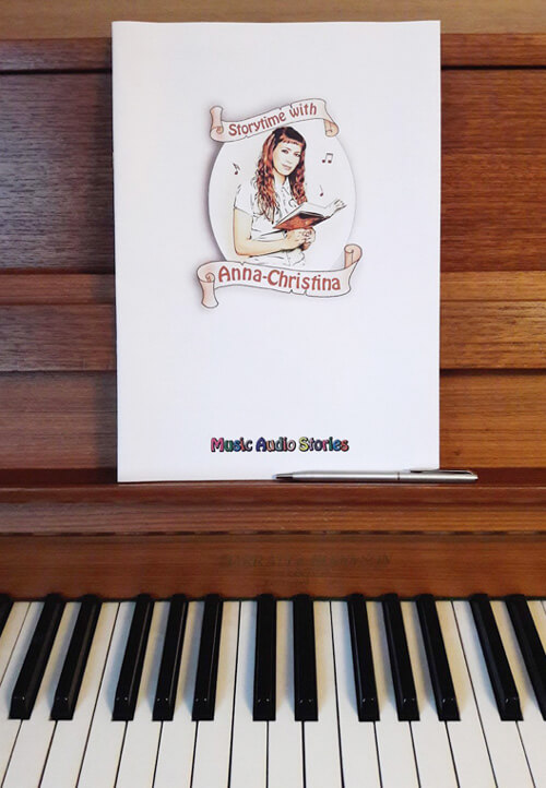 Music Audio Stories - Storytime with AC Booklet