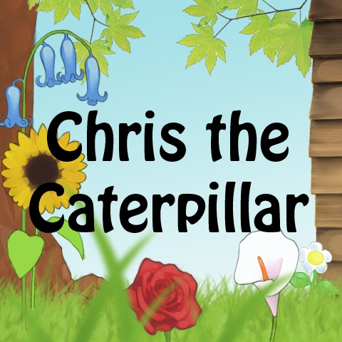 Music Audio Stories - Chris the Caterpillar audiobook cover image