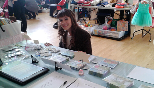 Anna-Christina at the Baby and Children's Market UK image