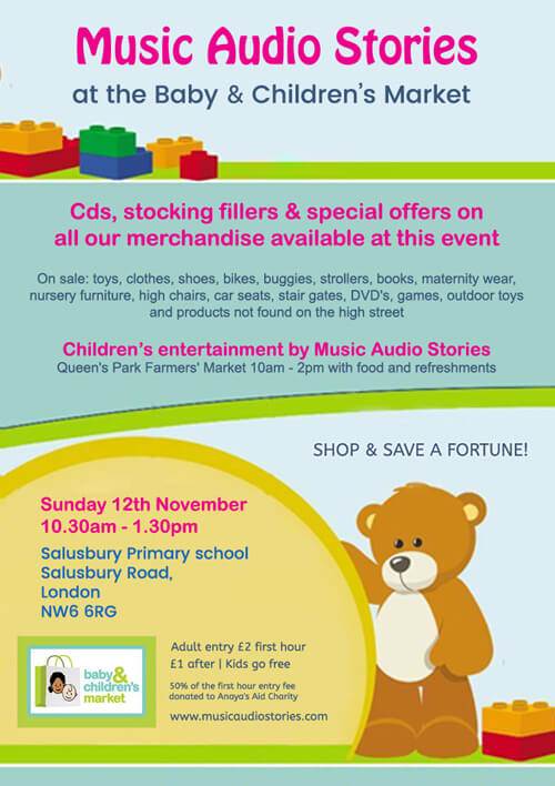Baby and Children's Market flyer image