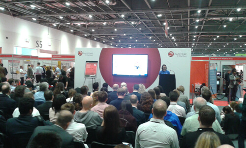 Seminar at The Business Show 2016 at ExCel London image