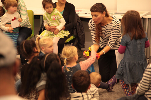 Storytime with Anna-Christina Polka Theatre Workshop