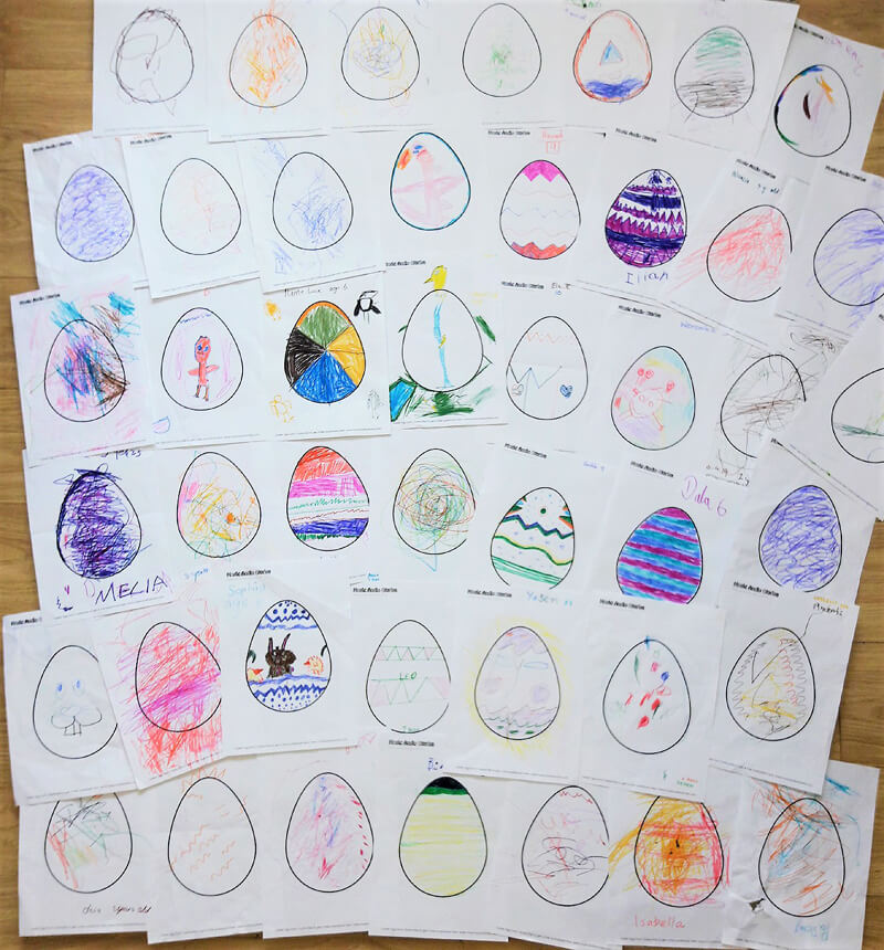 Music Audio Stories - Easter Library Tour 2019 Kids Artwork