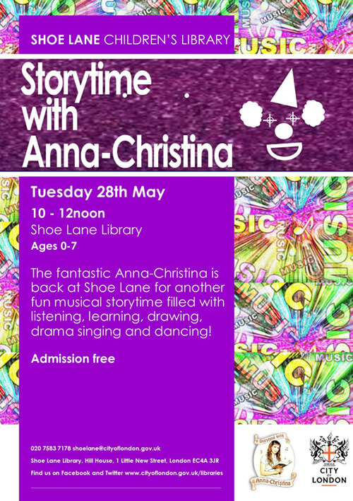 Music Audio Stories - Storytime with Anna-Christina at Shoe Lane Library