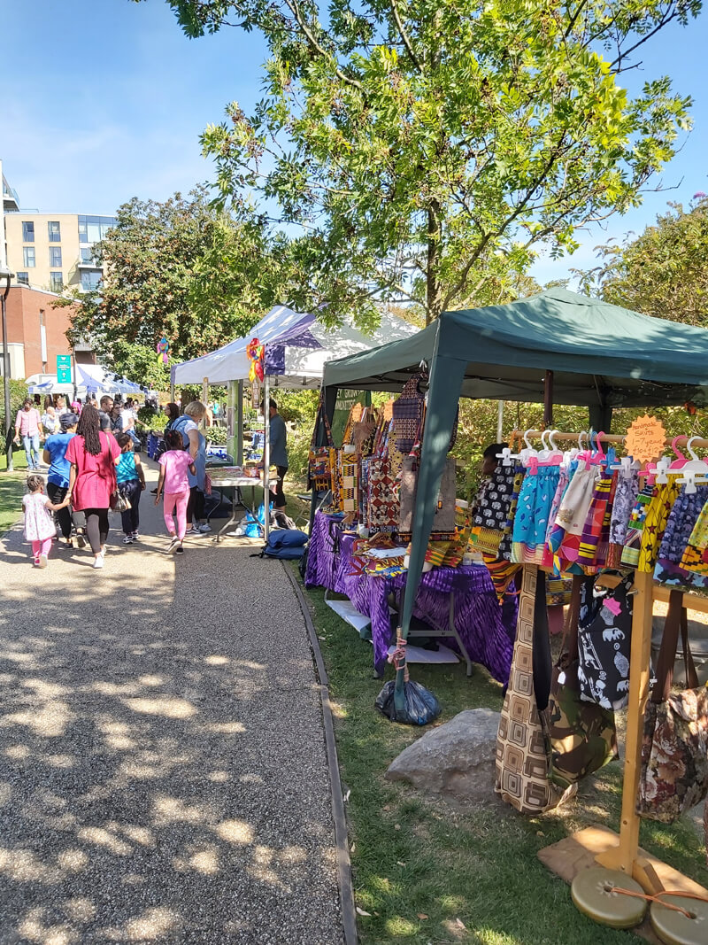 Hidden River Festival stalls image