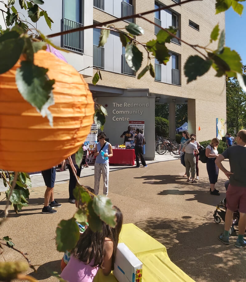 The Redmond Community Centre on the day of the Hidden River Festival 2019 image