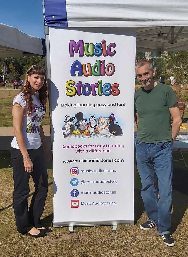 Music Audio Stories at the Hidden River Festival