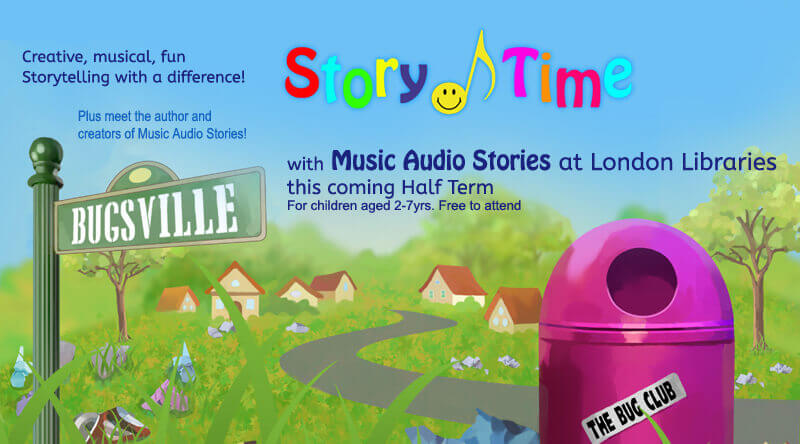 Story Time at London Libraries banner image