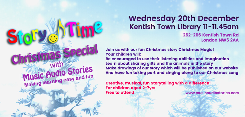 Story Time Christmas Special at Kentish Town image