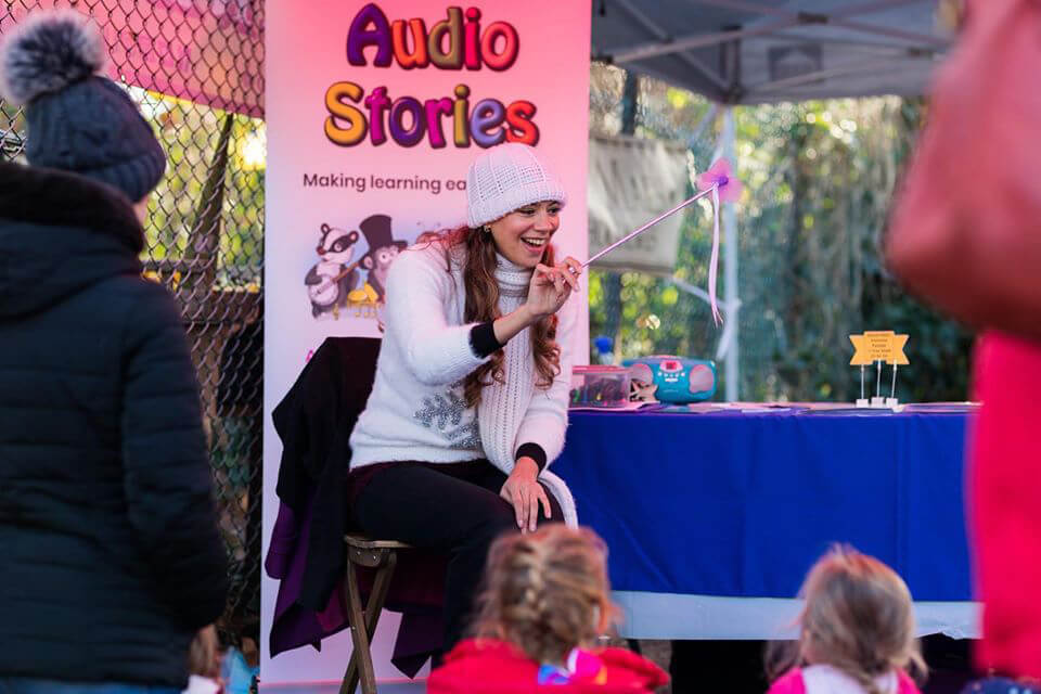 Storytime with Anna-Christina at Christmas at The Chase Market image