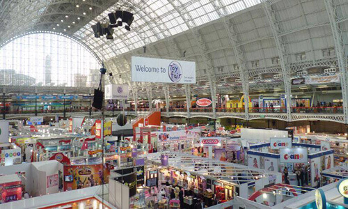 Kensington Olympia exhibition hall at The Toy Fair 2015 image