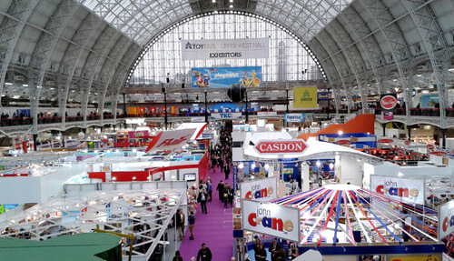 Kensington Olympia exhibition hall at The Toy Fair 2016 image