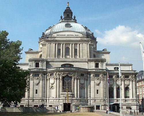 Westminster Central Hall building image