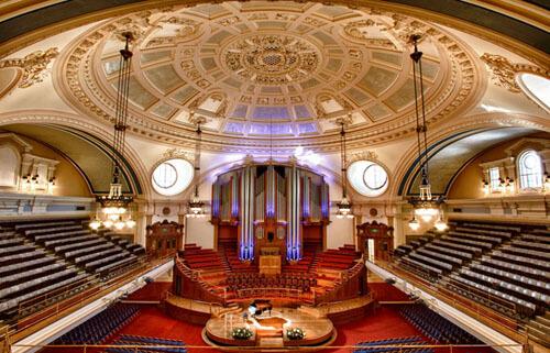 Inside Westminster Central Hall image