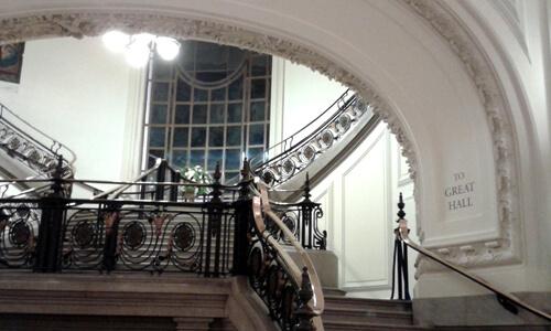 Inside Westminster Central Hall building image