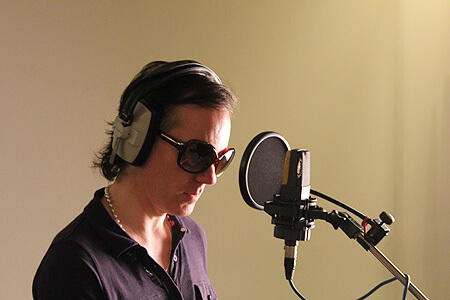David Ryder Prangley recording Freddie the New York ferret inaudiobook The Big Apple by Music Audio Stories