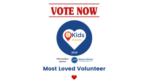 What's On 4 Kids Award 2019 - Vote for Anna-Christina!