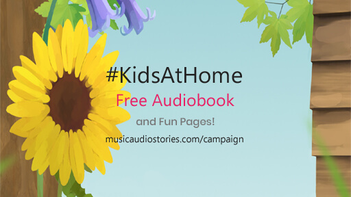 Music Audio Stories - Kids Stay At Home Campaign image