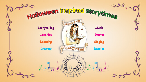 Storytime with Anna-Christina - Halloween Inspired Storytimes image