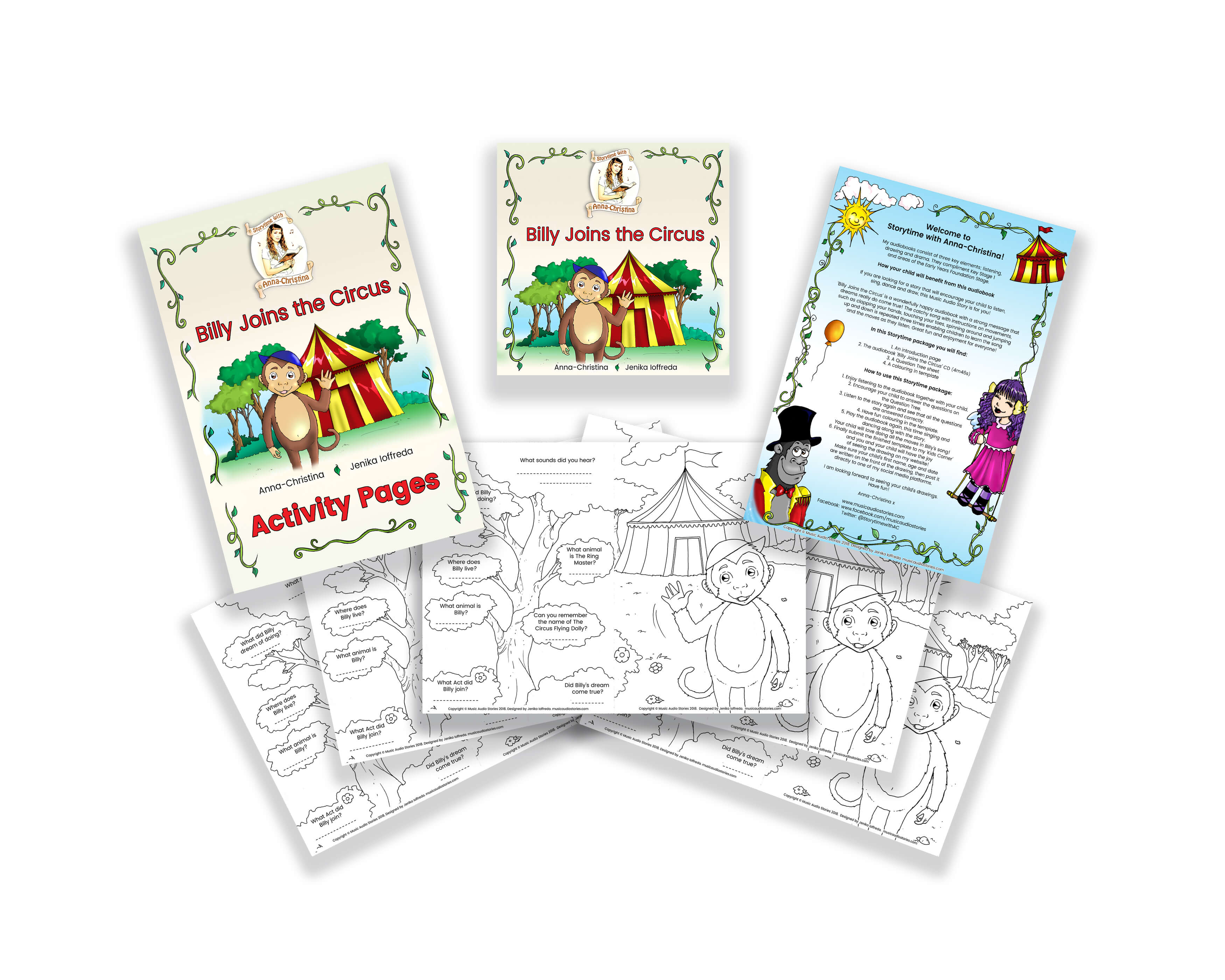 Storytime Preschool and Nursery Package Image